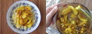 Cynamonowy ryż z jabłkami