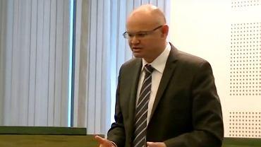 Ppłk Mariusz Lewiński jest sędzią wojskowym w stanie spoczynku
