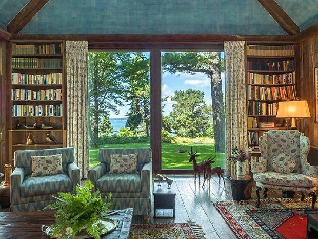 Rezydencja należąca do Davida Rockefellera