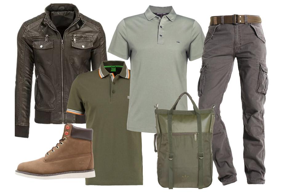3d895142c721f Z wojska na ulicę - styl militarny w męskiej garderobie