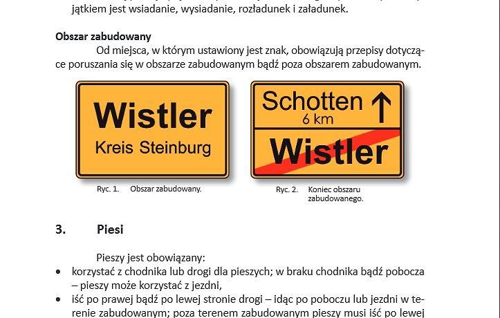 Jedziesz Autem Do Niemiec Przyda Się Ta Książeczka Z Przepisami