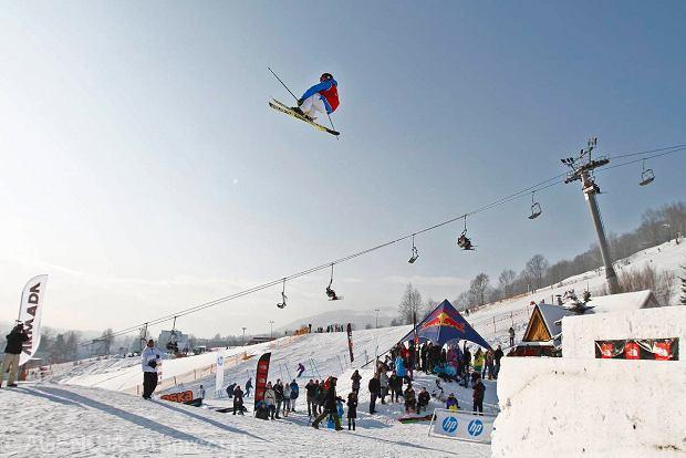 Zakopane, Harenda. Mistrzostwa Polski w Freeskiingu