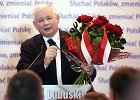 """Prezes Kaczy�ski w Gorzowie: """"Mo�na zwyci�a�, gdy odrzucimy bariery w naszych g�owach"""" [WIDEO, ZDJ�CIA]"""