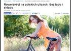 Go�� d... na rowerze? Zdj�cie zmienione, ale internet nie zapomina