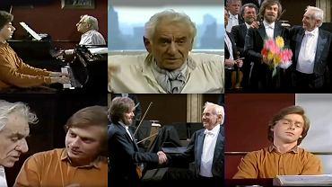Krystian Zimerman i Leonard Bernstein