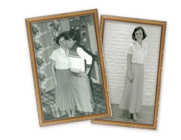 Jak ubierały się nasze mamy, gdy były w naszym wieku?