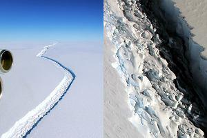 Lodowiec wielkości dziesięciu Warszaw wkrótce oderwie się od Antarktydy. Podniesie poziom oceanu