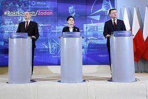Rząd zapowiada zwiększenie liczby żołnierzy i posterunków policji. Szydło: Zwiększamy bezpieczeństwo Polaków