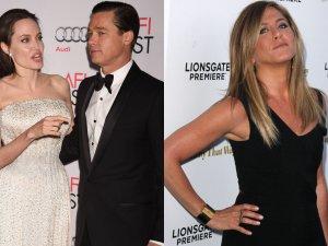 Angelina Jolie, Brad Pitt i Jennifer Aniston