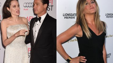 """Jolie i Pitt i ich nowy film. Krytycy nie maj� lito�ci. Jest te� """"afera"""": Aniston """"jest w�ciek�a"""" na Brada"""