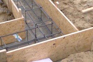 Budowa domu: �awy fundamentowe