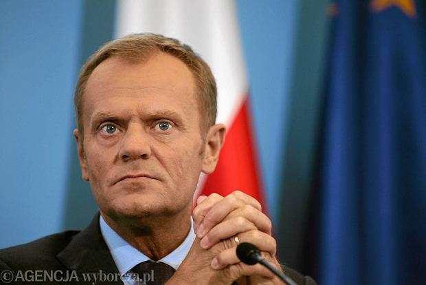 Premier Donald Tusk. Czy PO ma powody do obaw w zwi�zku z ostatnimi wynikami sonda�y?