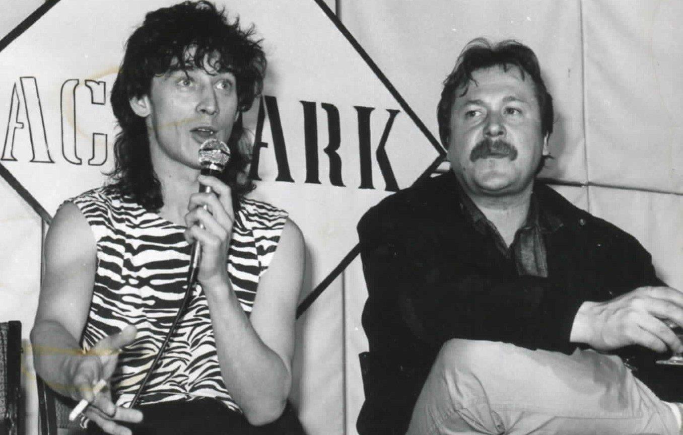 Jan Borysewicz (po lewej) i Andrzej Mogielnicki