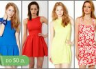 Hit cenowy: sukienki do 50 z� - ponad 110 propozycji!