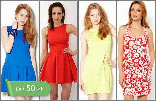 b9156fca5d908d Hit cenowy: sukienki do 50 zł - ponad 110 propozycji!