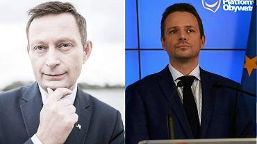 Paweł Rabiej (Nowoczesna) i Rafał Trzaskowski (PO) będą konkurować w Warszawie o mniej więcej ten sam elektorat