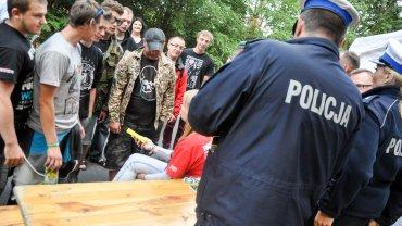 Policja na Woodstock