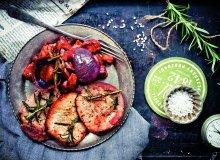 Casserole warzywne i kotlety ciel�ce - ugotuj