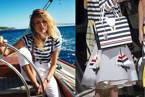 Granat, biel i czerwień - odkryj marynarski styl na nowo