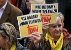 """Przez Warszaw� zn�w przejdzie marsz w obronie TV Trwam. """"Bo jeste�my dyskryminowani"""""""