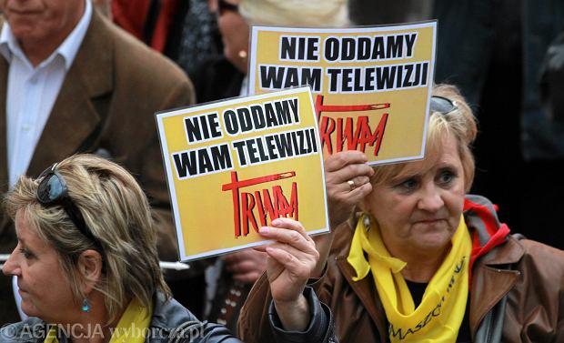 Marsz w obronie Telewizji TRWAM w 2012 r.