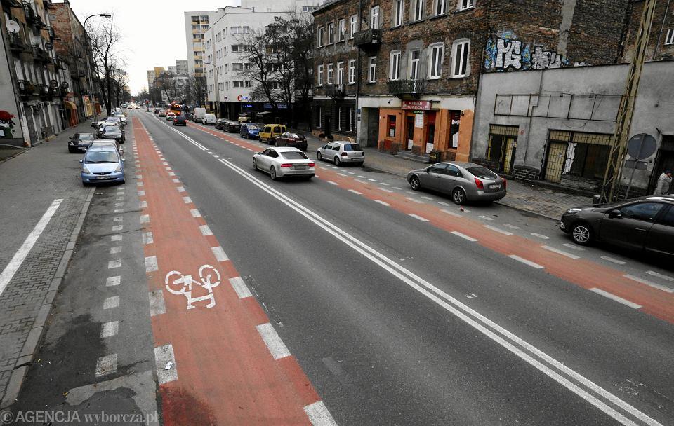Nowe pasy rowerowe na ul. Radzymińskiej