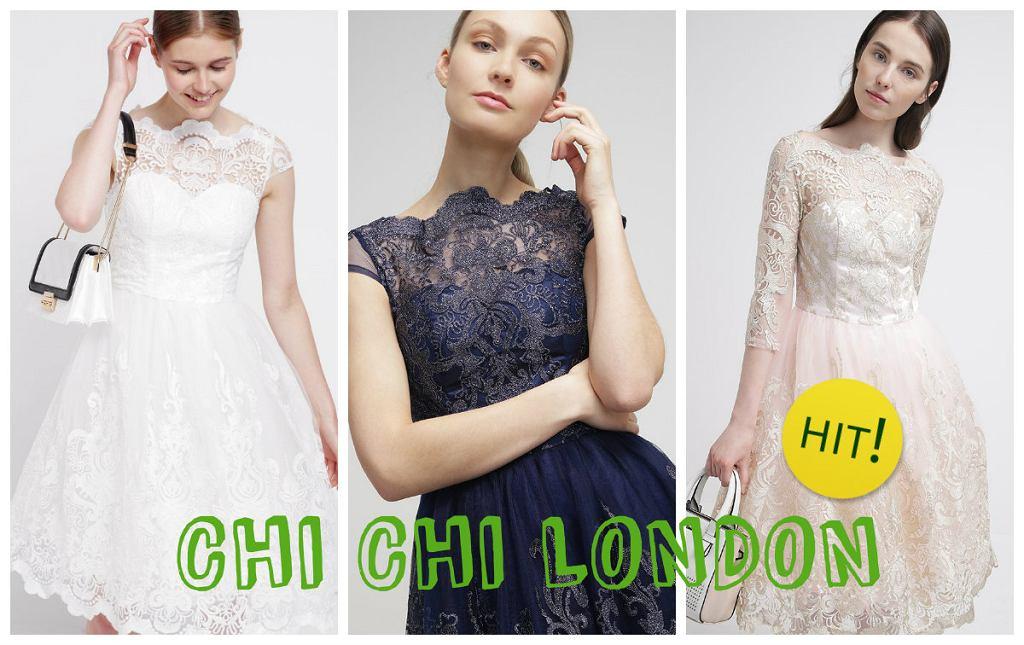 9c10ada28d Sukienki na wesele- przegląd najciekawszych modeli od Chi Chi London i nie  tylko