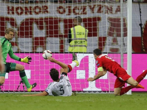 Polacy zagrali dobry mecz. Ale na Niemców było to za mało. Niestety przegrywamy