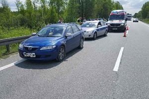 24-latka potrąciła policjanta i wiozła go na masce kilka kilometrów. Nie pomogły strzały