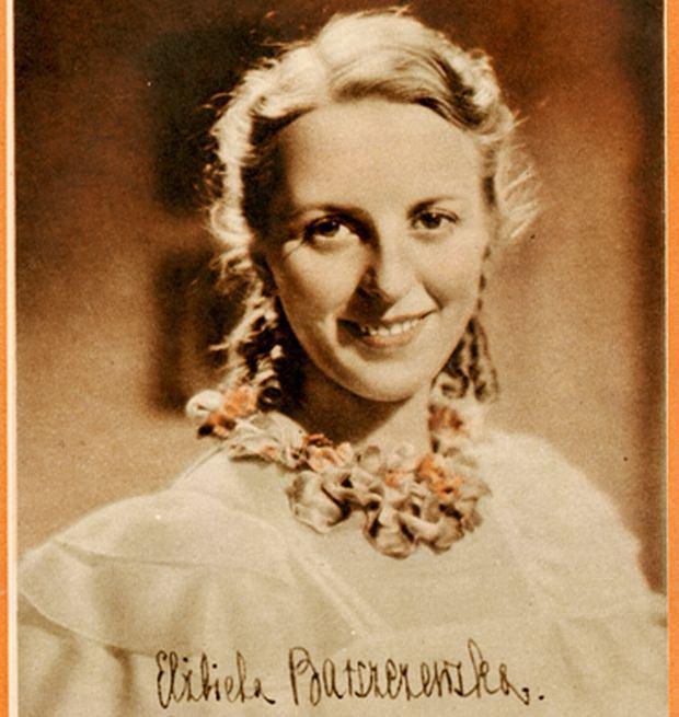 Fotografia ze zbiorów Igora Strojeckiego. Elżbieta Barszczewska - z14739000Q,Elzbieta-Barszczewska
