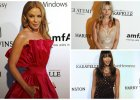 Gala amfAR w Sao Paulo: Kate Moss z siostr�, Naomi Campbell, Izabel Goulart i Kylie Minogue w dziwnej sukience