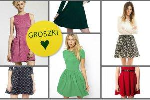 Rozkloszowane sukienki do 150 z� - ponad 100 propozycji