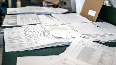 Sfałszowane dokumenty