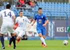 Lech Poznań - Pogoń Szczecin 0:0 w sparingu rozegranym we Wronkach. Marcin Gawron
