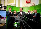 Ludowcy po eurowyborach: wytrzymali atak PiS, Piechoci�ski od