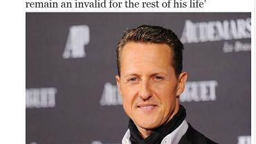 Michael Schumacher pozostanie inwalidą?