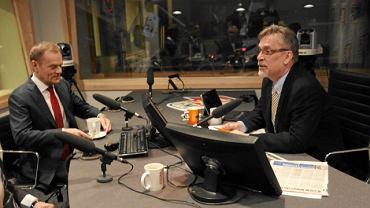 Donald Tusk w radio TOK FM
