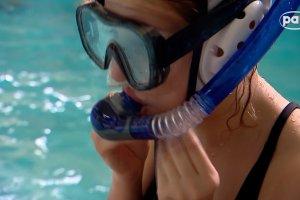 W basenie w Siemianowicach �l�skich trenuj� podwodni hokei�ci i hokeistki