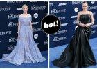 Mroczna czarownica i urocza ksi�niczka na czerwonym dywanie w Hollywood. Kt�ra wypad�a lepiej - Angelina Jolie czy Elle Fanning?
