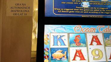 Automat z salonu gier