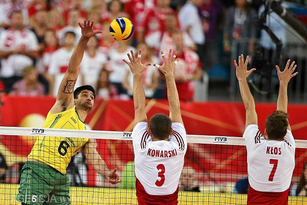 Polska - Brazylia 3:2. Możdżonek: Zrobiłem to, o czym ...