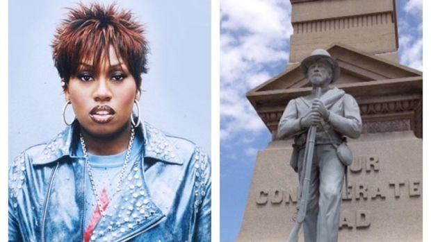 Wniosek o zastąpienie pomnika żołnierzy Konfederacji złożył jeden z mieszkańców Portsmouth, z którego pochodzi popularna raperka. Petycję o wzniesienie monumentu Missy Elliott może podpisać każdy.