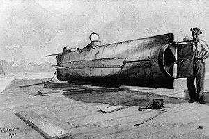 Jak zatonął najsłynniejszy okręt podwodny wojny secesyjnej w USA. Zatopiłwroga, ale sam też przepadł