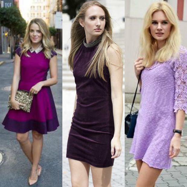 Fioletowe sukienki na lato - wybierz swoj� ulubion�!