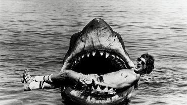Steven Spielberg w szczękach rekina