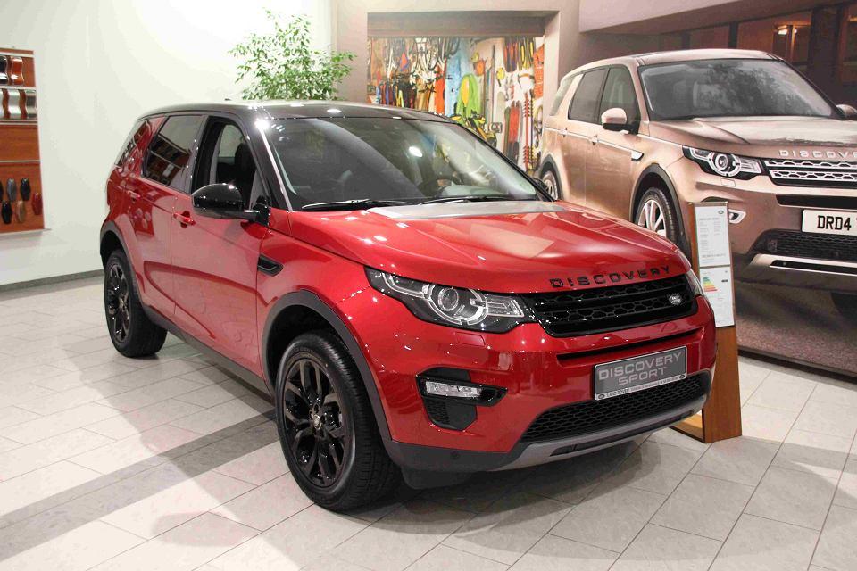 Land Rover Discovery w Gdańsku