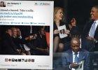 """Uroczysto�ci pogrzebowe Mandeli, a Obama i pi�kna premier Danii robi� """"selfie"""" [ZDJ�CIE]"""