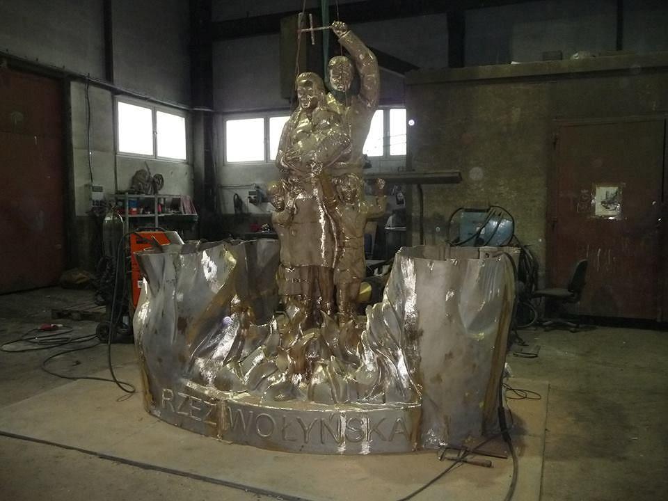 Pomnik 'Rzeź Wołyńska'