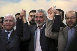 Palesty�skie zwa�nione partie Hamas i Fatah pogodzone. Izrael: To koniec rozm�w pokojowych