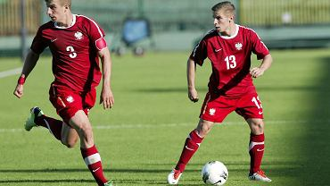 Polska - Grecja 1:1. Z numerem 3 Adrian Liberacki